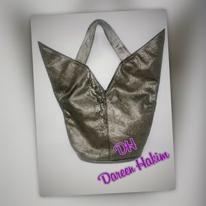 AMAZING Handmade V Tote  from Dareen Hakim
